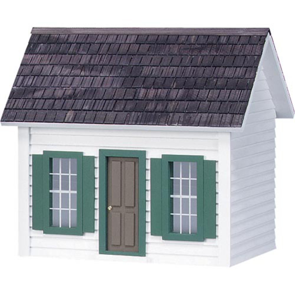 Real Good Toys Finished Lightkeeper's House Dollhouse Kit
